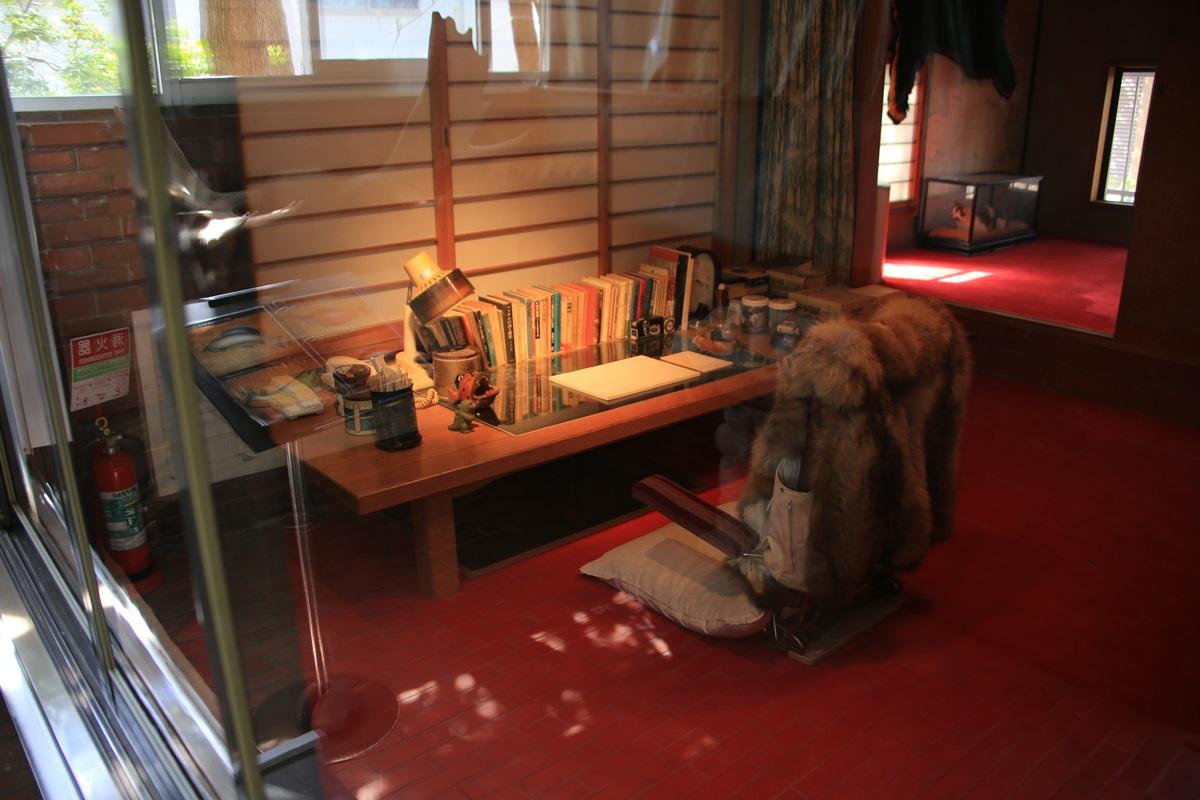 44歳の時に作った書斎 開高健記念館 開高健旧邸宅  書斎 kaikoken_museum (48)