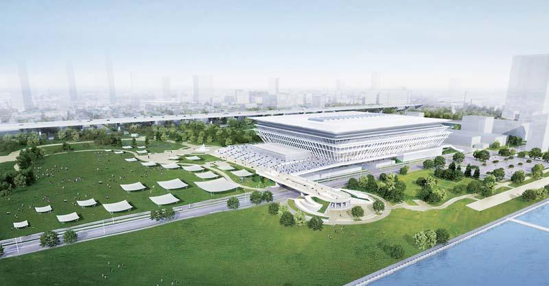 東京五輪 オリンピックアクアティクスセンター OlympicAquaticsCenter