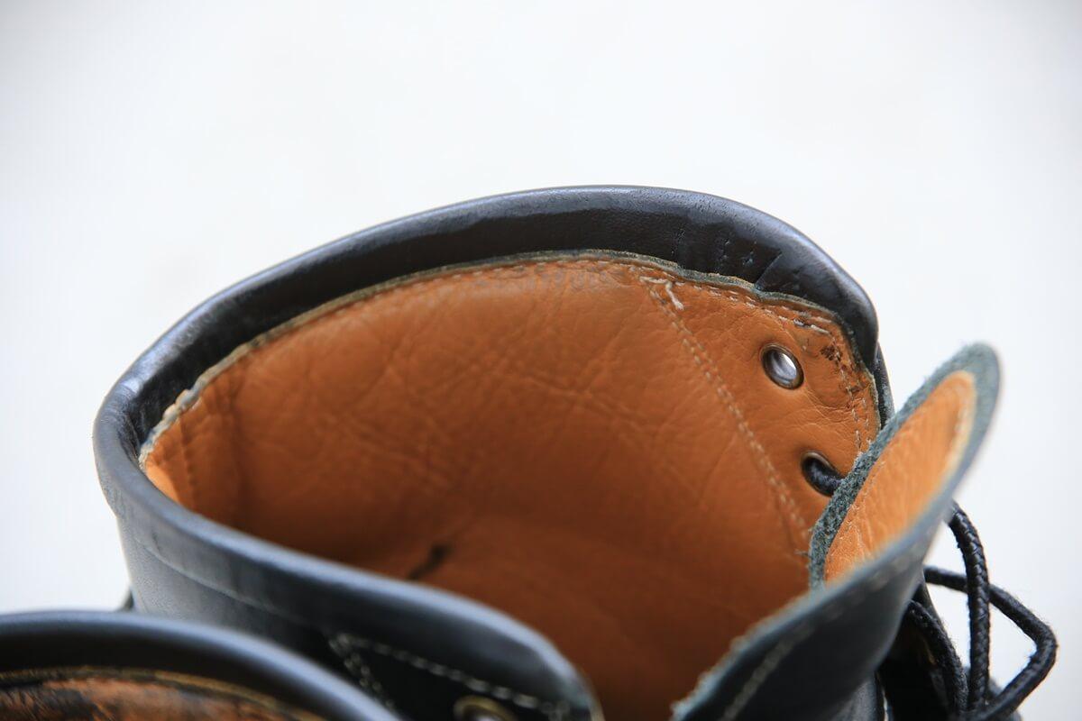 安藤製靴 サフィールで補色 andoseika (2)