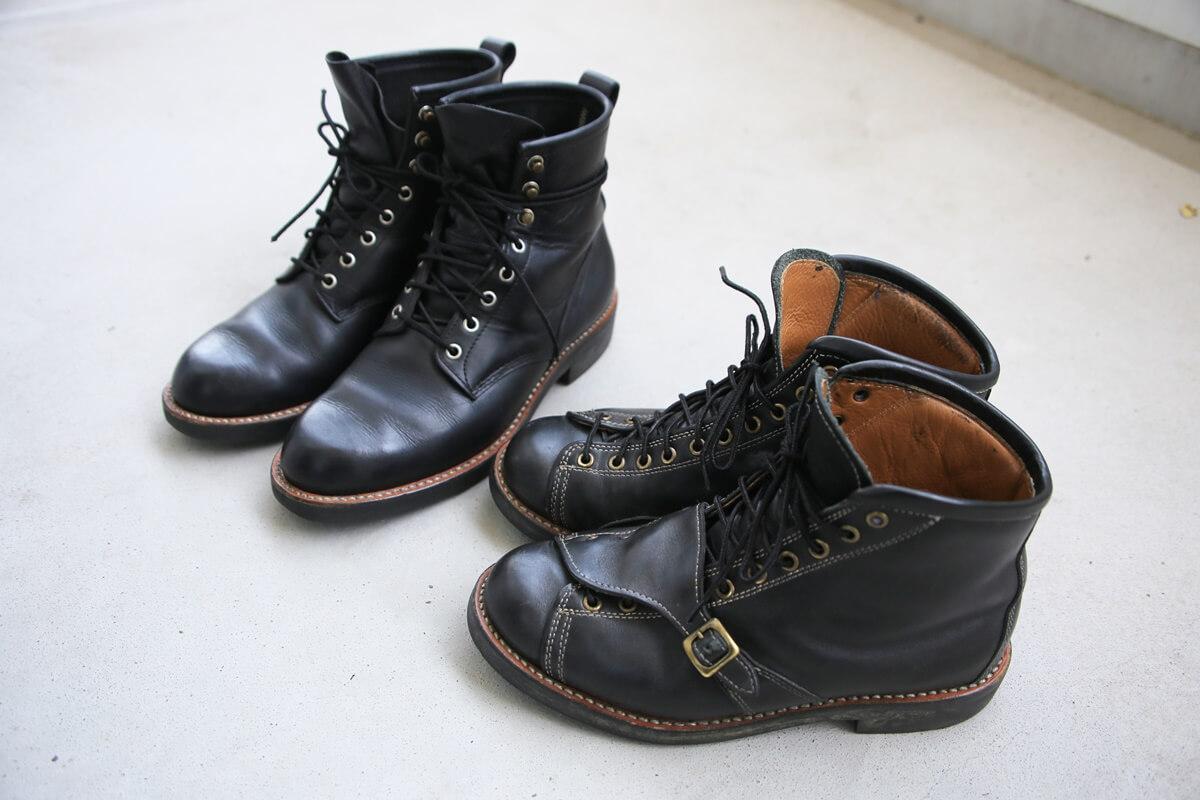 安藤製靴 サフィールで補色 andoseika (3)