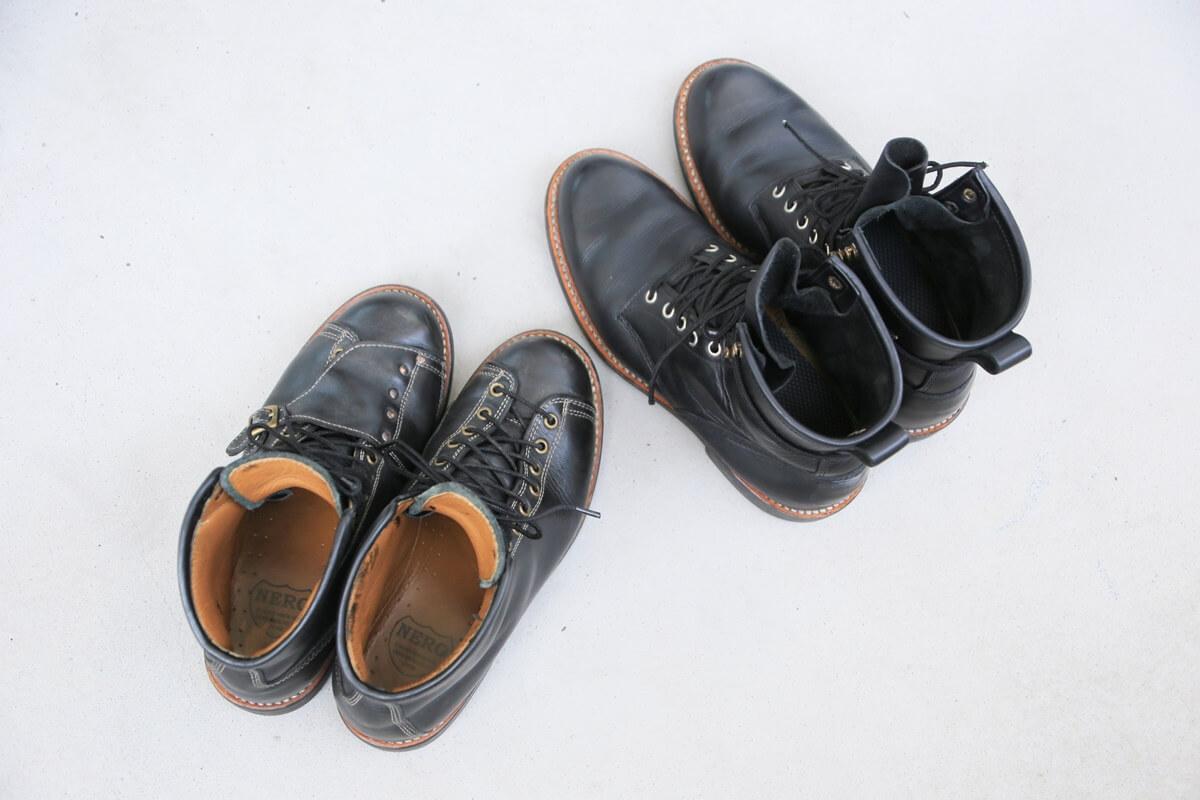 安藤製靴 サフィールで補色 andoseika (4)