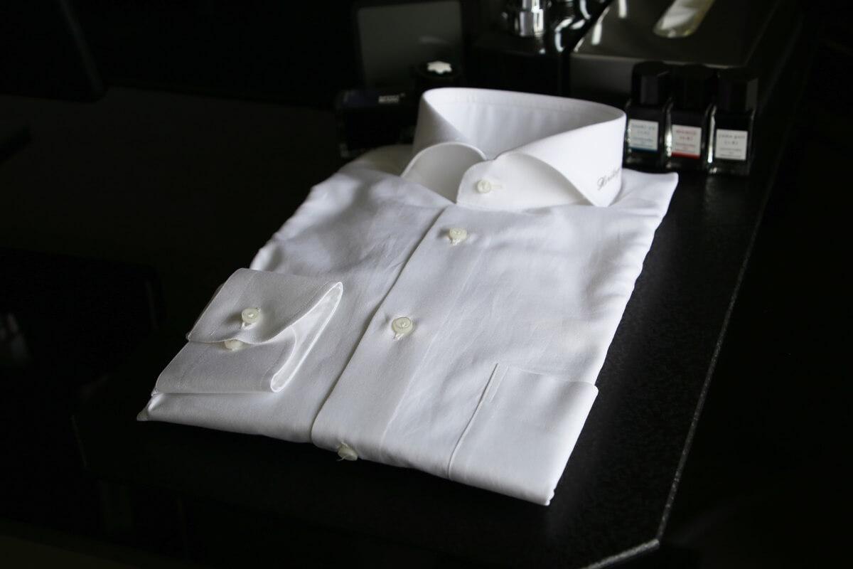 &C麻布テーラー表参道 オックスフォード 白いシャツ azabu_Tailor_omotesando_oxford_shirts (1)