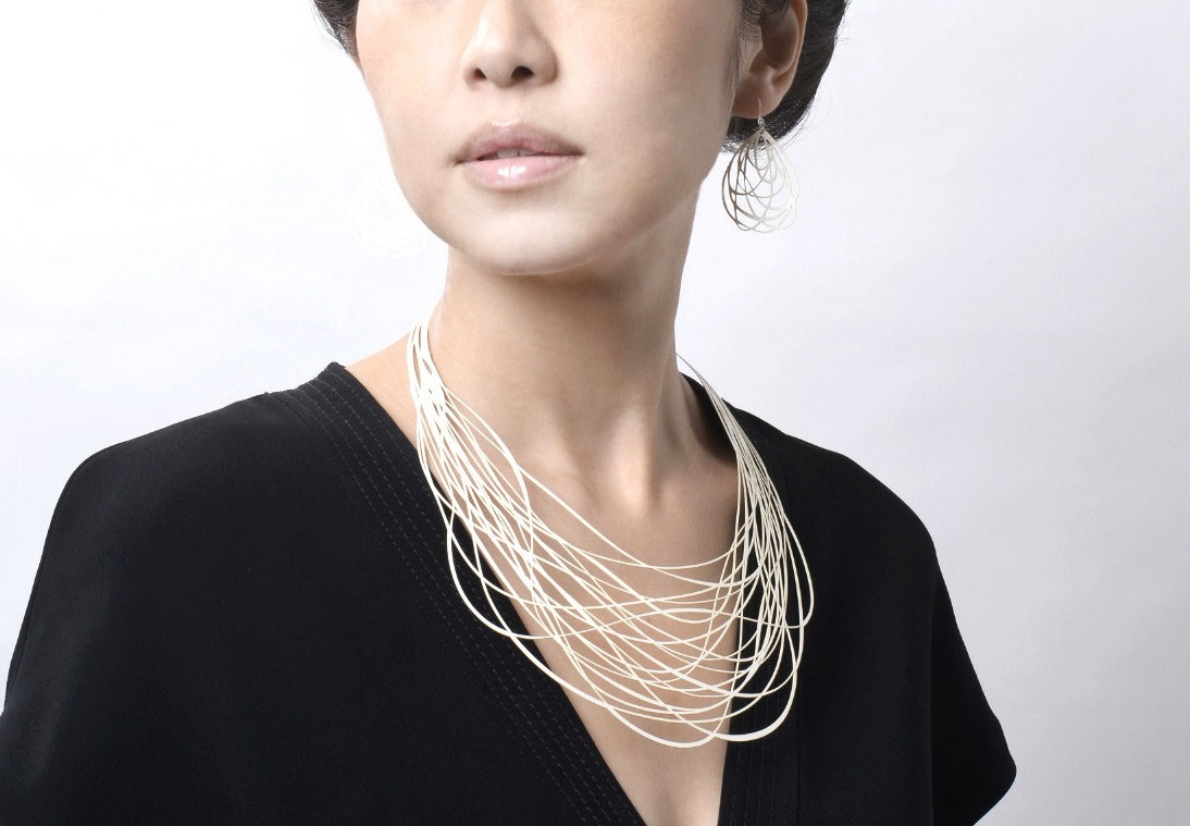 paper_jewelry ペーパージュエリー 紙のネックレス