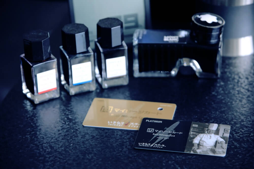いきなりステーキ プラチナカード&ゴールドカード ikinari_steak_platinumdcard_goldcard (2)