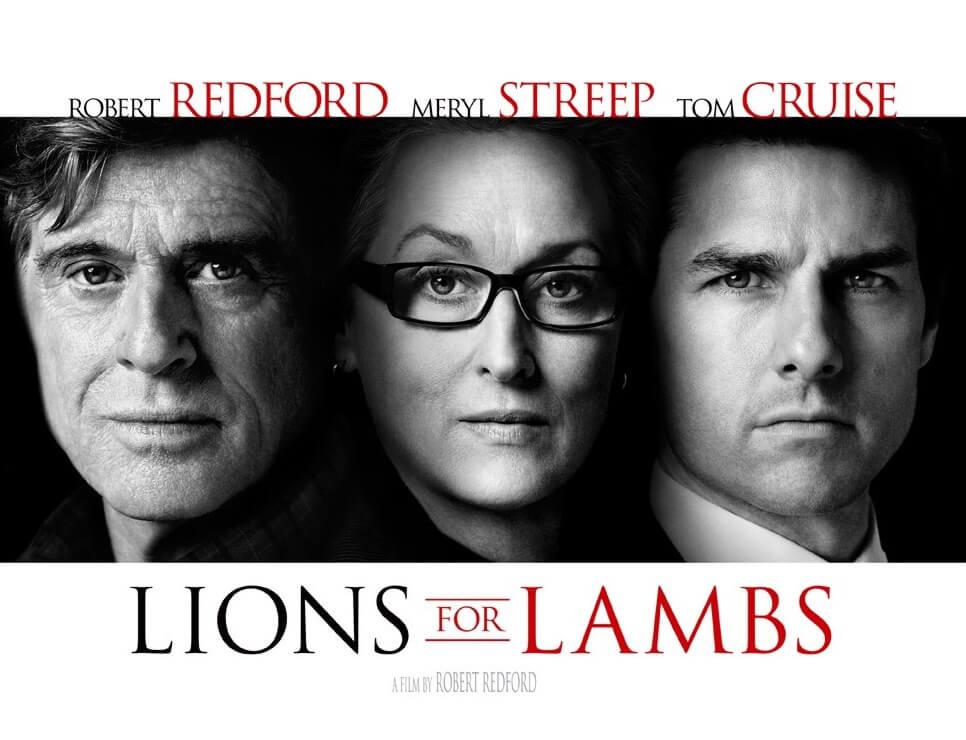 大いなる陰謀 2007年 lions for lambs (1)