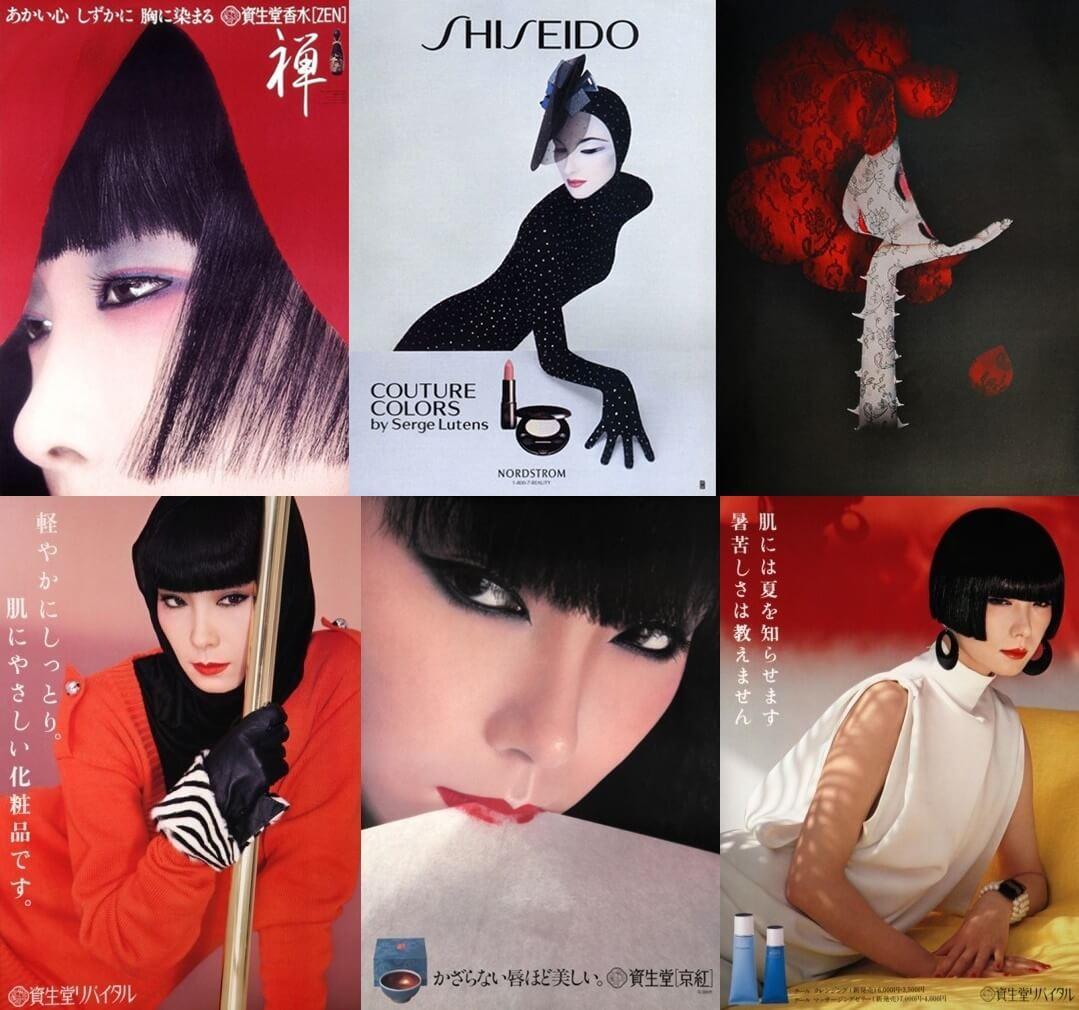 山口小夜子 資生堂ポスター shiseido_sayoko_yamaguchi