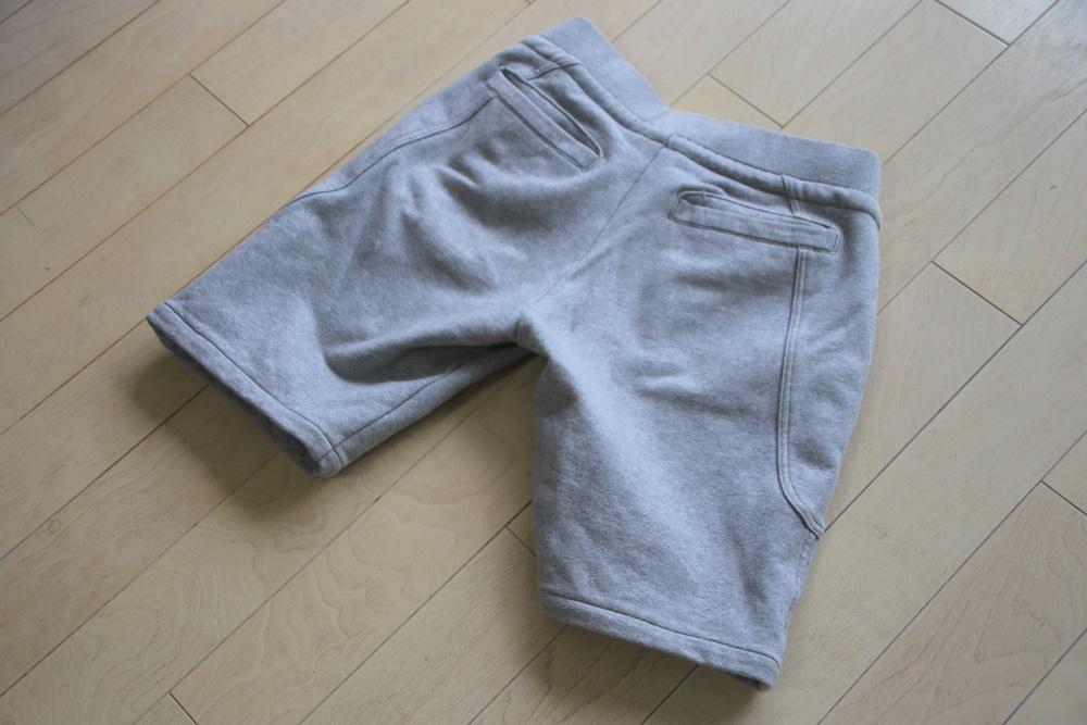 AKM(エーケーエム) solid easy shorts original stretch jerjey 【GRAY】 (スウェットショーツ) AKM_solid easy shorts original stretch jerjey (5)