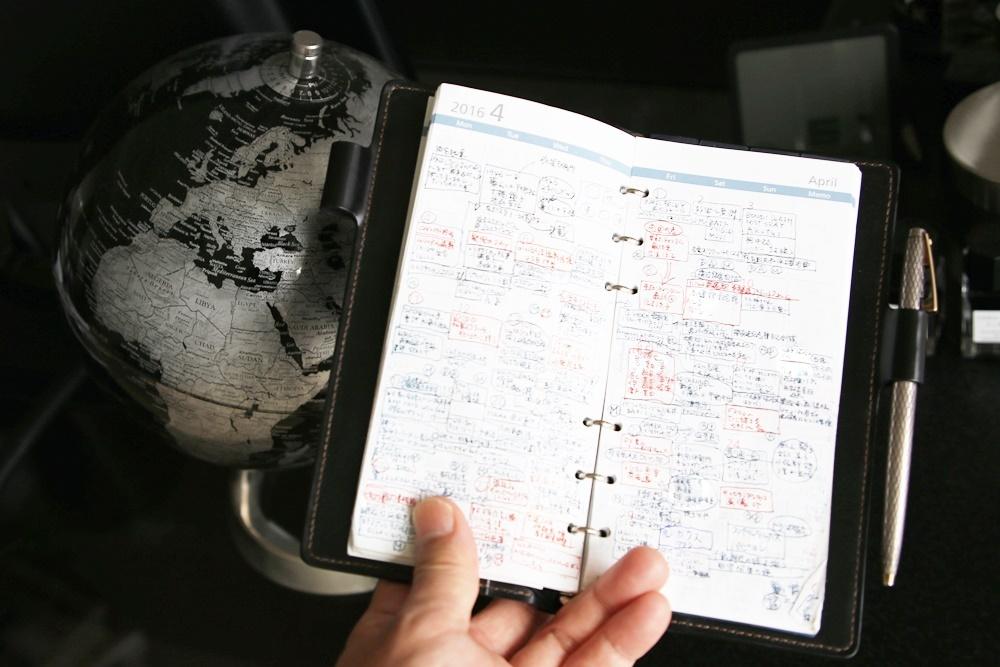 ガルーシャテイル コードバンシステム手帳 Galuchattail (2)