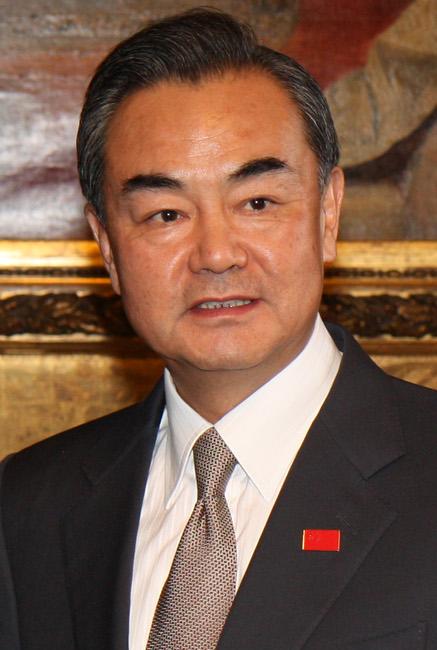 中国外務大臣 王毅