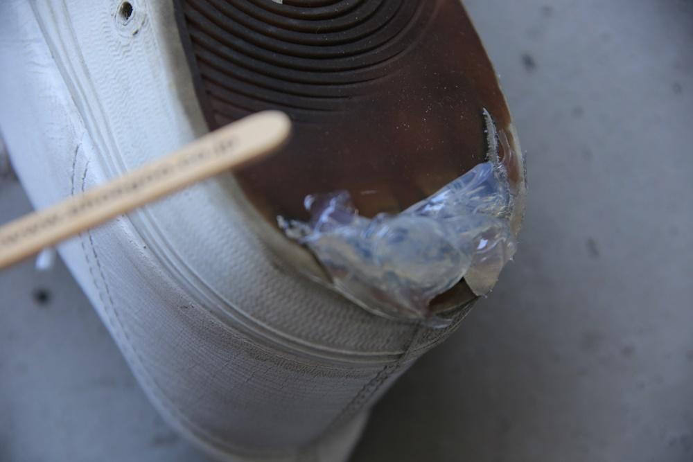 shoe GOO (4) シューグー ソール応急処置