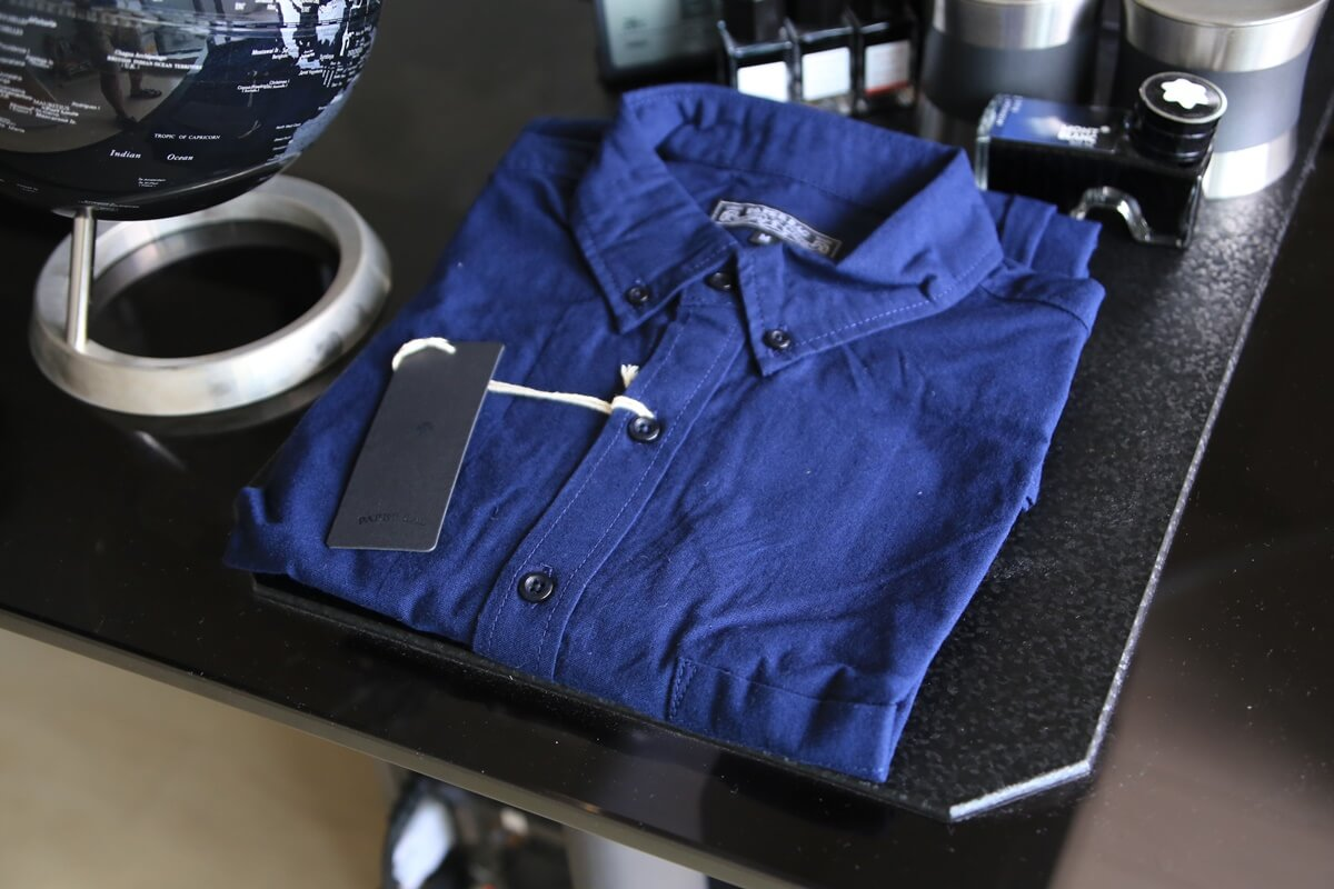 oxford_shirts オックスフォード ボタンダウン 長袖シャツ