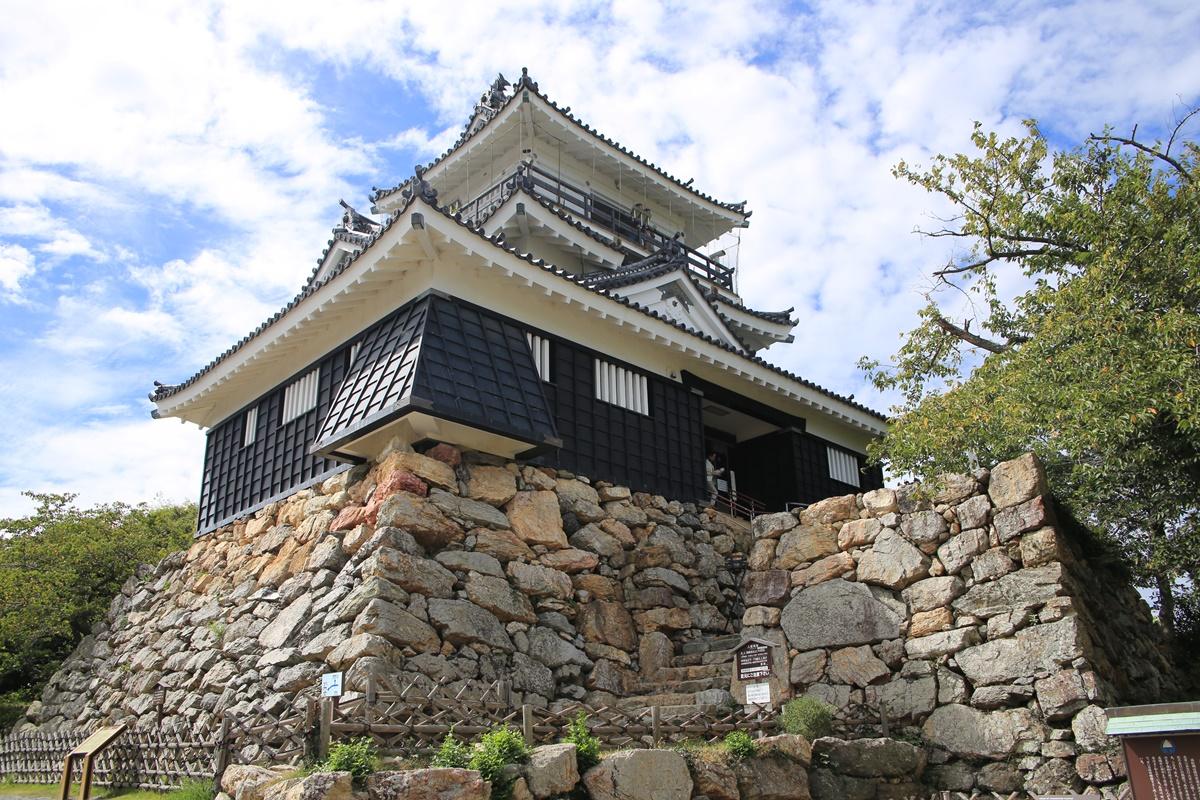 野面積みの出世城 浜松城 hamamatsujo (1)