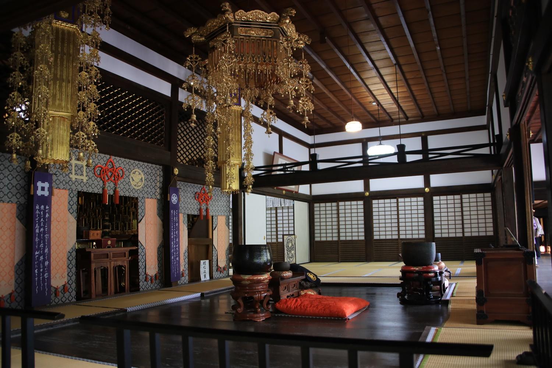 本堂内 ryotanji (5) おんな城主直虎所縁の龍潭寺