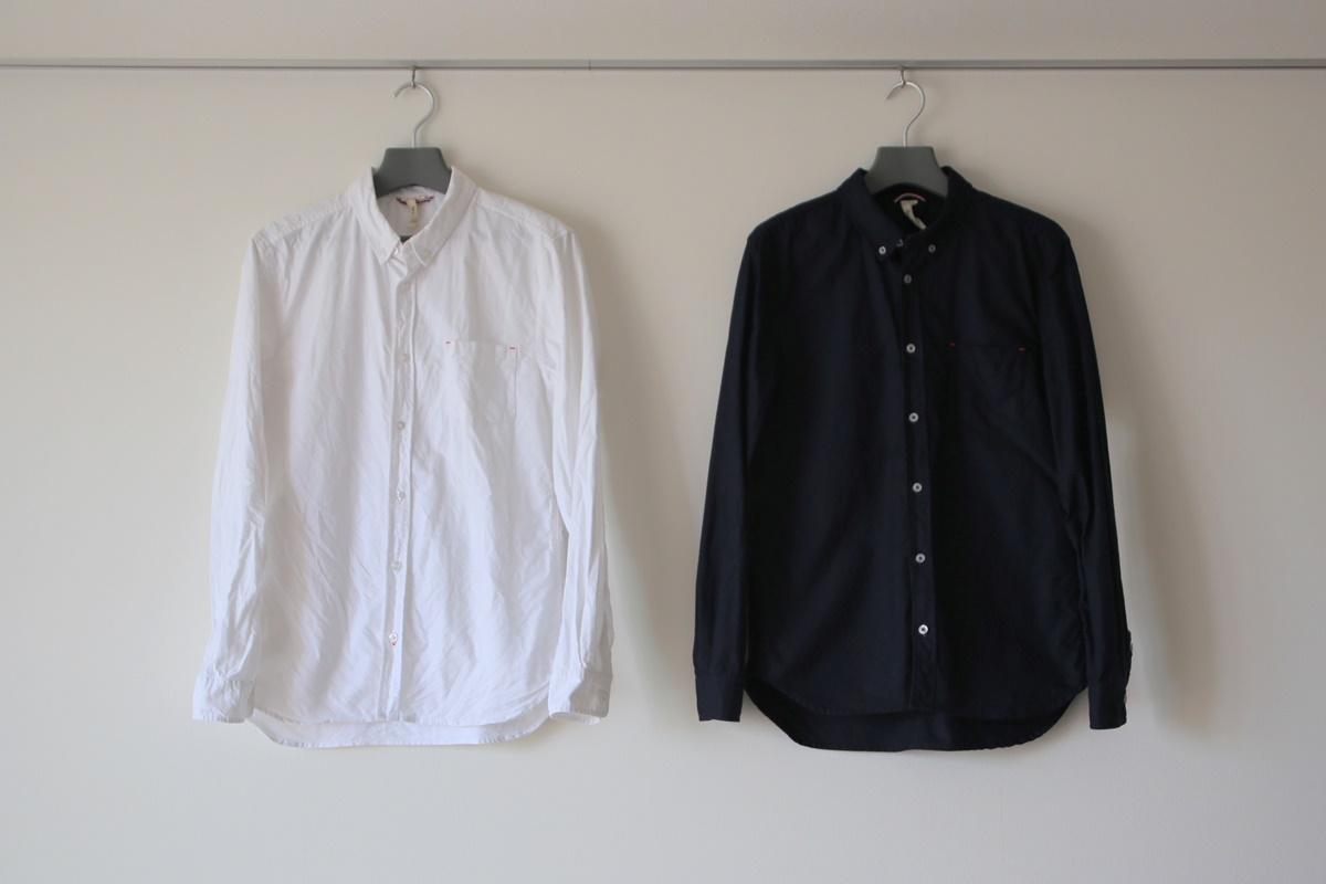 オックスフォード白長袖シャツ black-beauty_high-quality-product