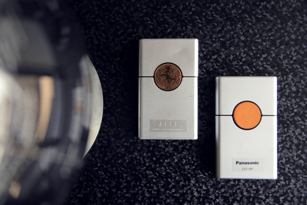 Panasonic カードシェーバー AITE
