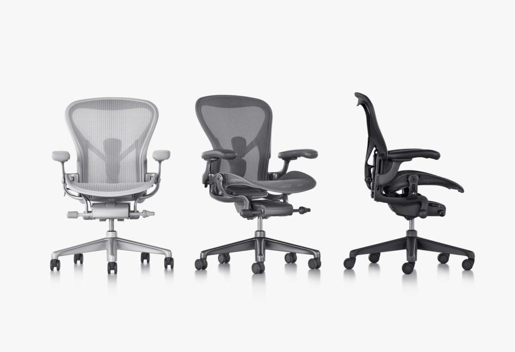 ハーマン・ミラー リマスターされた新型アーロンチェア herman-miller-just-redesigned-its-iconic-aeron-chair-4