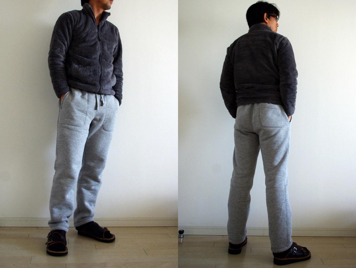 ユニクロ スウェットボアパンツ & フリースフルジップジャケット uniqlo-swetmoa-pants_fleece-jacket-3