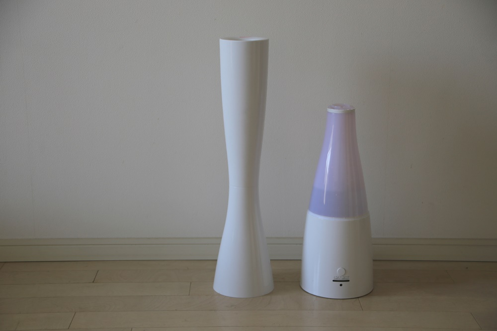 aroma_-sablier-3 超音波式 アロマ 加湿器 Sablier サブリエ [PR-HF001]