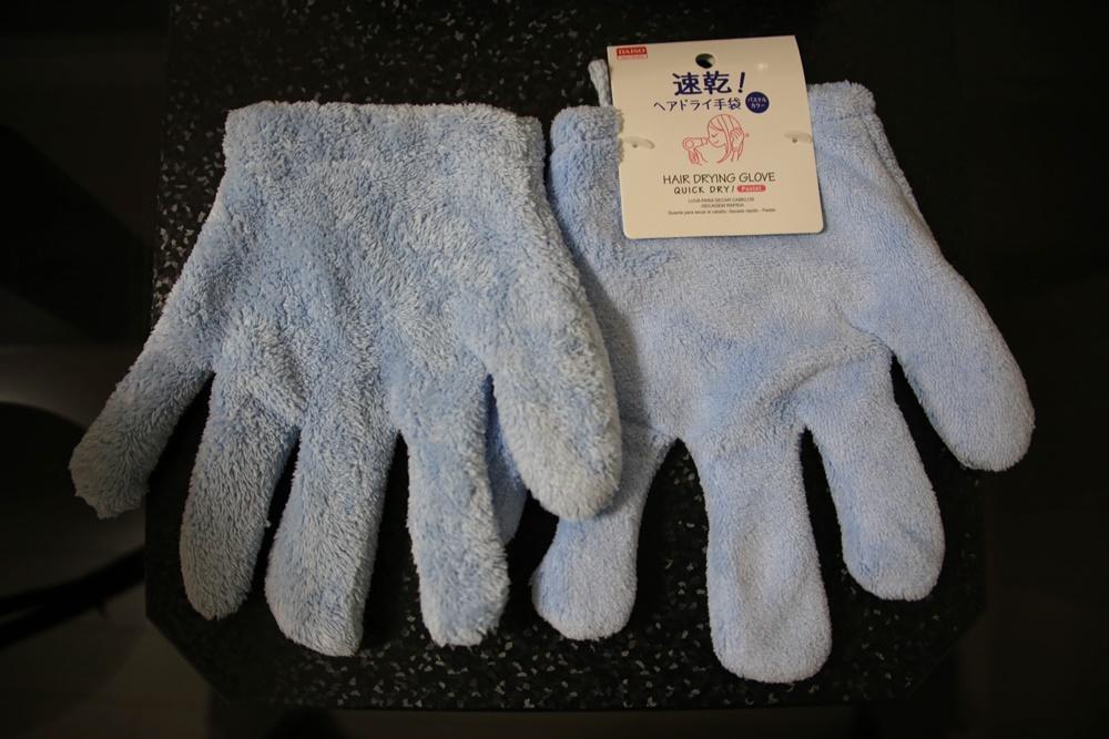 hair_dry_gloves THE大人買い、速乾ヘアドライ手袋。