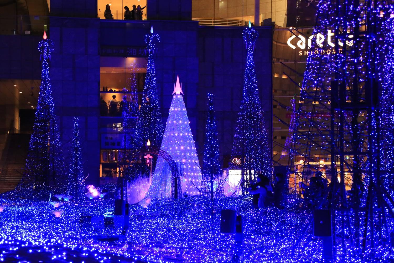 カレッタ汐留 カレッタイルミ 2016 carettaillumination2016-1 カレッタ汐留 カレッタイルミ 2016