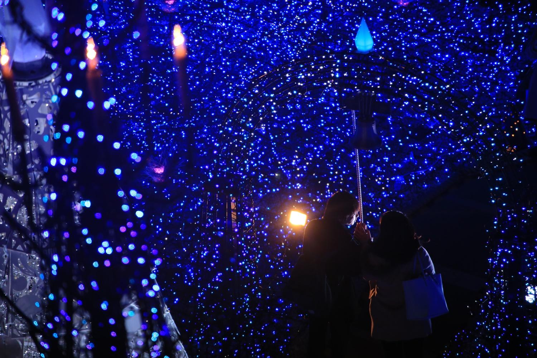 カレッタ汐留 カレッタイルミ 2016 carettaillumination2016-15
