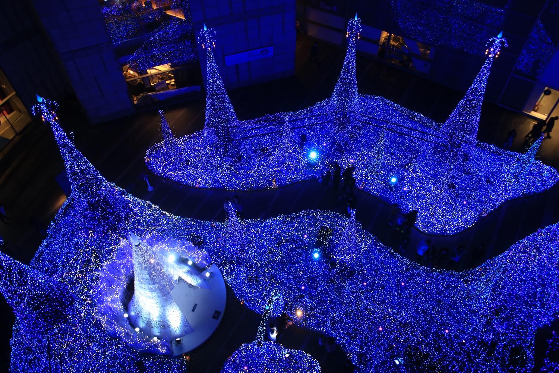 カレッタ汐留 カレッタイルミ 2016 carettaillumination2016-18