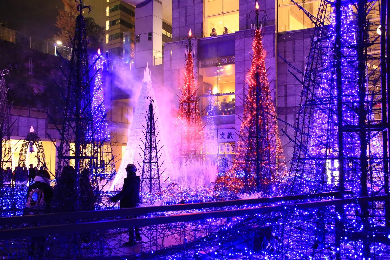 カレッタ汐留 カレッタイルミ 2016 carettaillumination2016-2