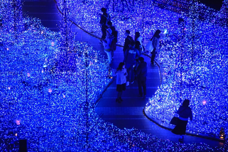 カレッタ汐留 カレッタイルミ 2016 carettaillumination2016-23