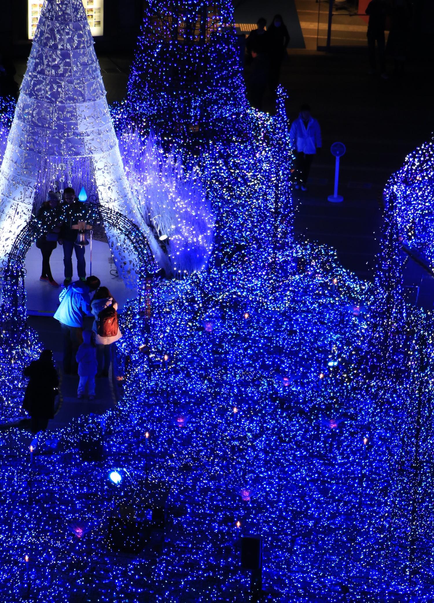 カレッタ汐留 カレッタイルミ 2016 carettaillumination2016-24