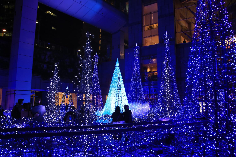 カレッタ汐留 カレッタイルミ 2016 carettaillumination2016-3