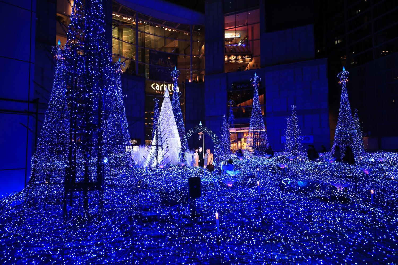 カレッタ汐留 カレッタイルミ 2016 carettaillumination2016-9