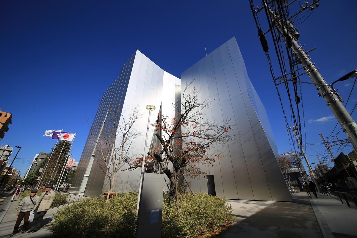 すみだ北斎美術館 建物 妹島和世氏設計 the_sumida_hokusai_museum-5
