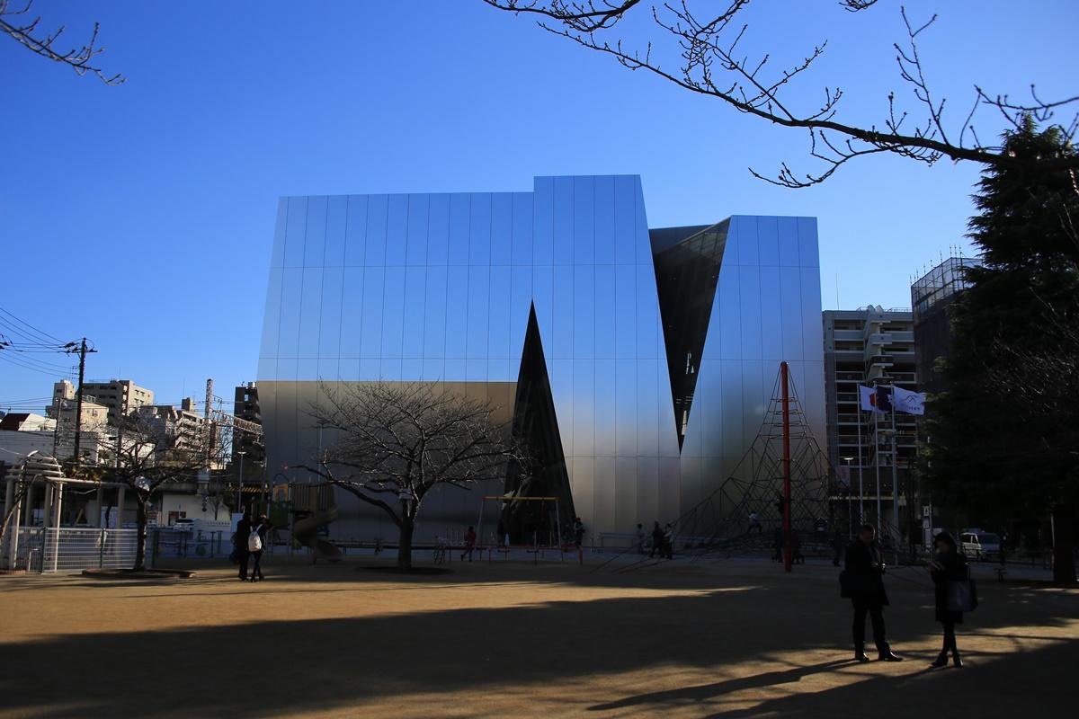 すみだ北斎美術館 建物 妹島和世氏設計 the_sumida_hokusai_museum-9
