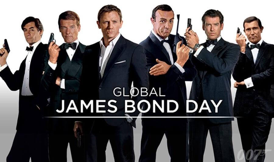 歴代ジェームス・ボンド  007