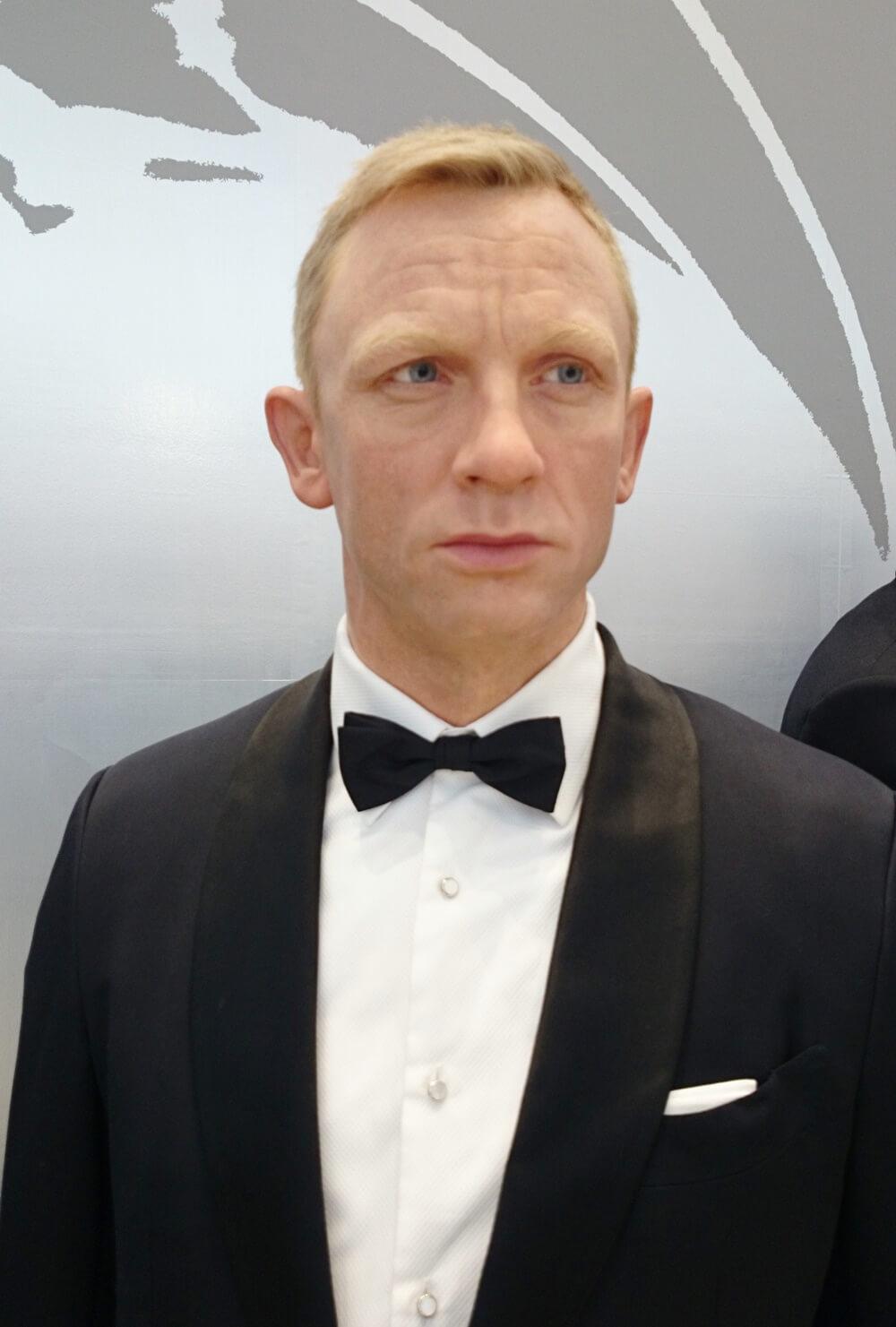 6代目:ダニエル・クレイグ(Daniel Craig) 歴代ジェームス・ボンド マダムタッソー バーニーズニューヨーク 007_madametussauds_BARNEYS NEW YORK