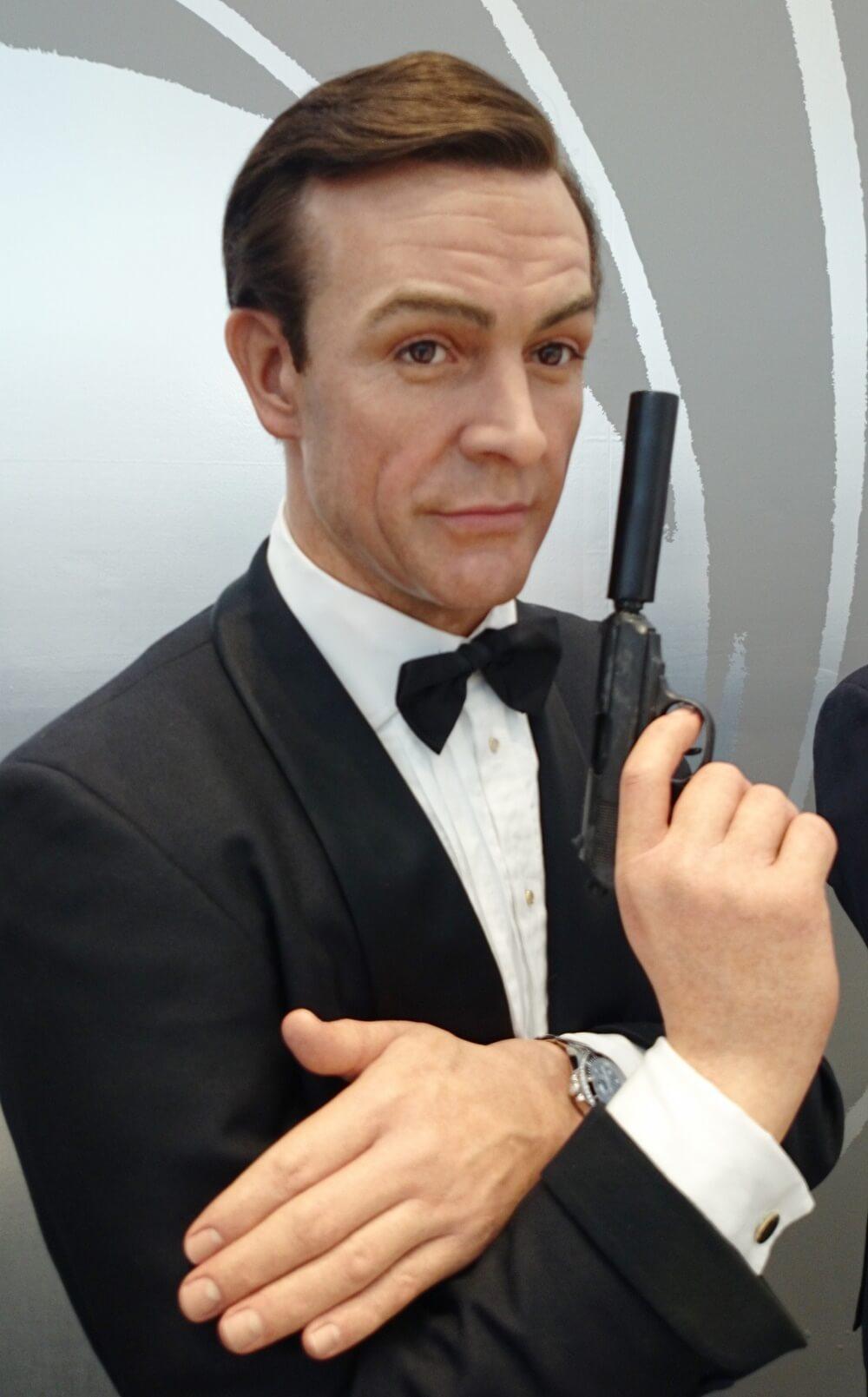 1代目:ショーン・コネリー(Sean Connery) 歴代ジェームス・ボンド マダムタッソー バーニーズニューヨーク 007_madametussauds_BARNEYS NEW YORK