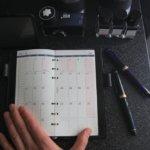 Galuchattailのコードバン手帳。