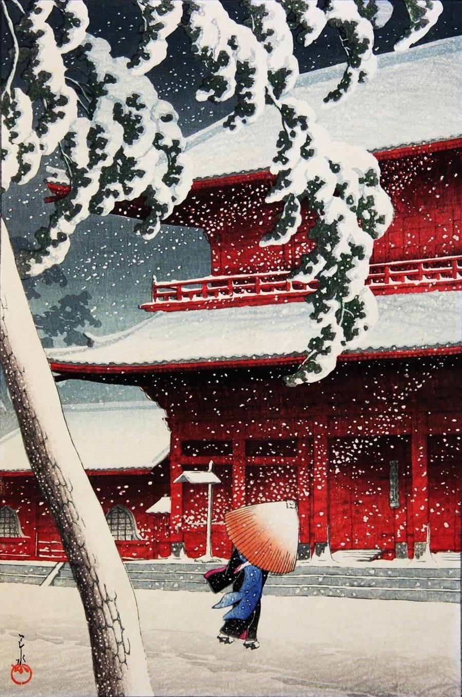 川瀬巴水 明治の浮世絵師 Hasui_Kawase