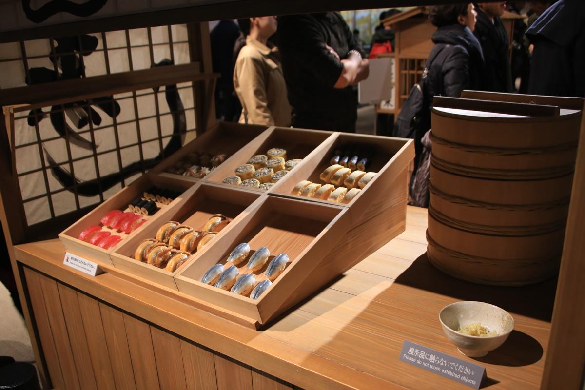 江戸時代の寿司の屋台