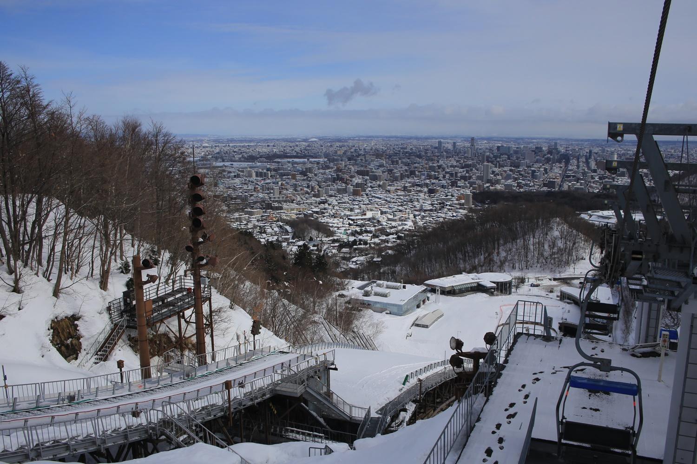 北海道 札幌 大倉山ジャンプ競技場 カンテ 踏切台