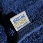 マーサ・スチュワートの20年物バスタオル。