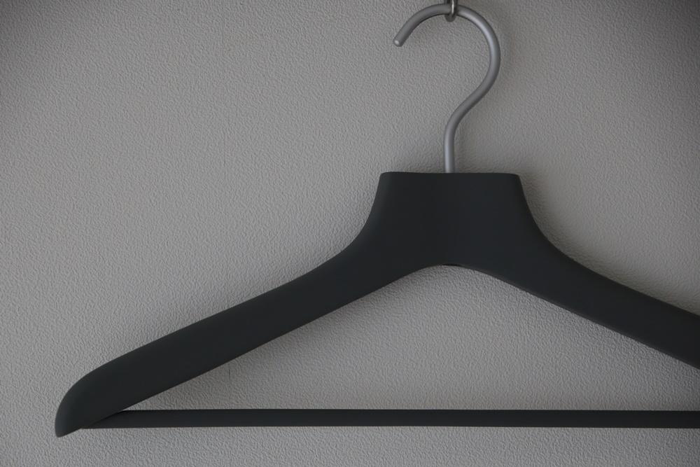 無印良品 すべりにくいハンガー・薄型 約幅42cm