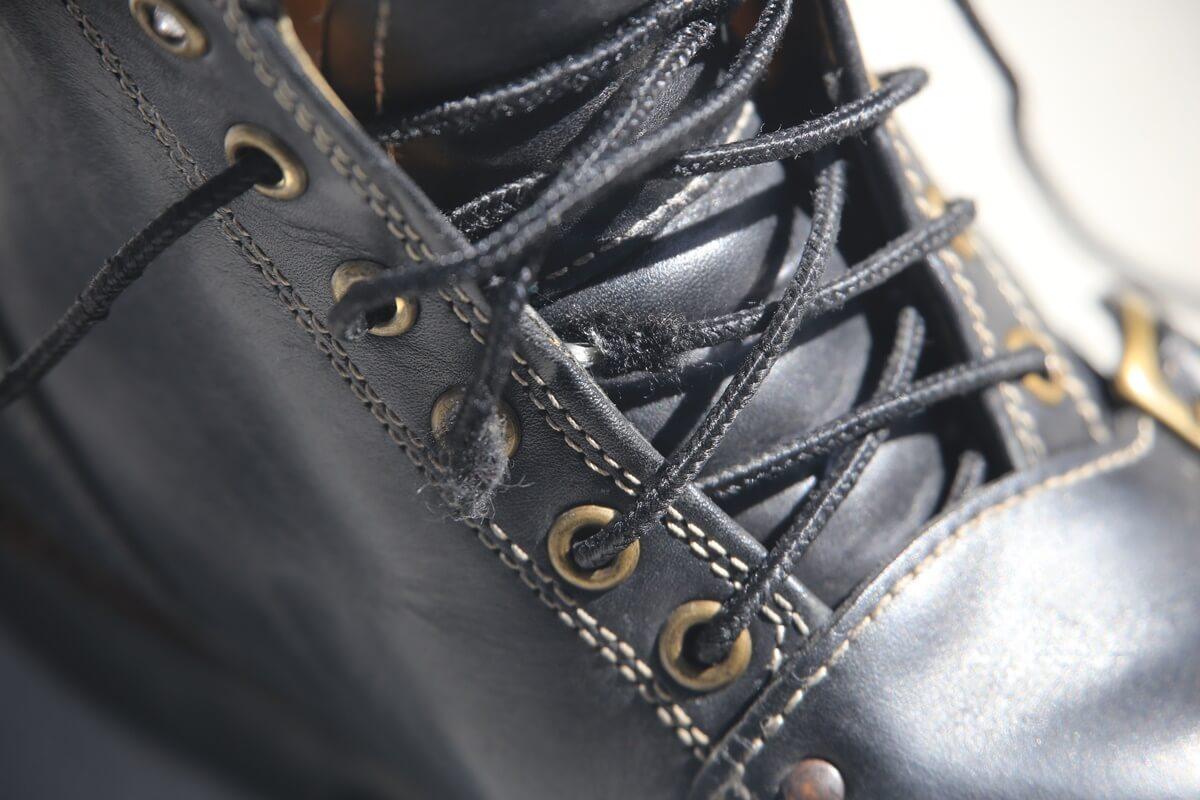 andoseika_Z (1) 安藤製靴 Z メインテナンス 靴ひも切れ