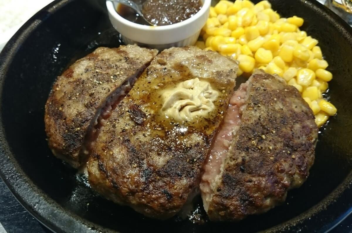 いきなりステーキ ワイルドハンバーグランチ ikinari_steak_hamburger (1)