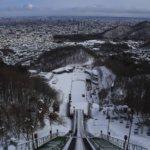 雪のサッポロ、絶対行くべき観光地は大倉山ジャンプ競技場。