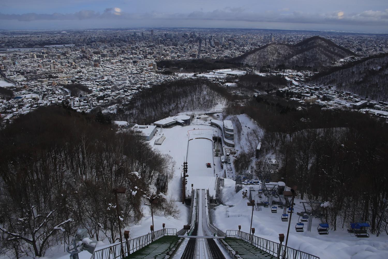 北海道 札幌 大倉山ジャンプ競技場 展望台からの眺め okurayama_jump_arena (1)