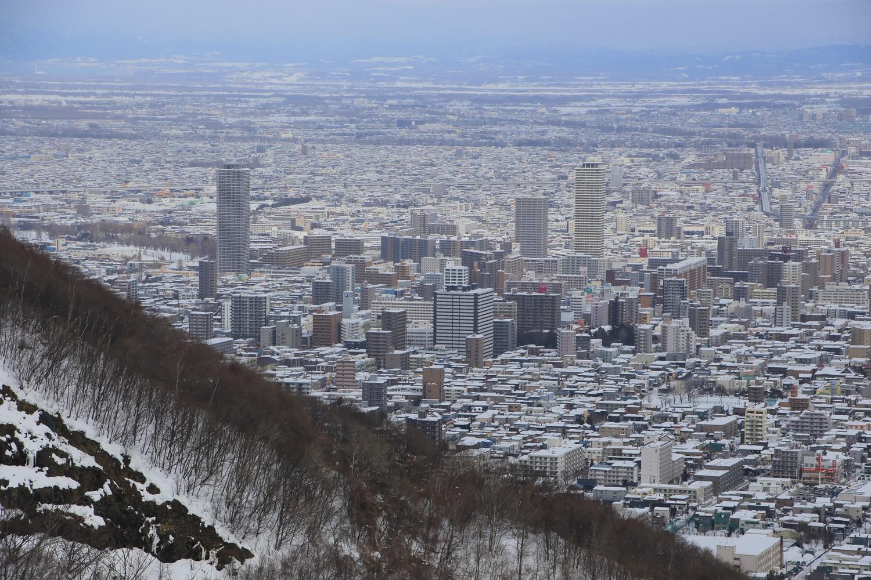 北海道 札幌 大倉山ジャンプ競技場 展望台