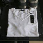 10年憧れたTheory のTシャツ。