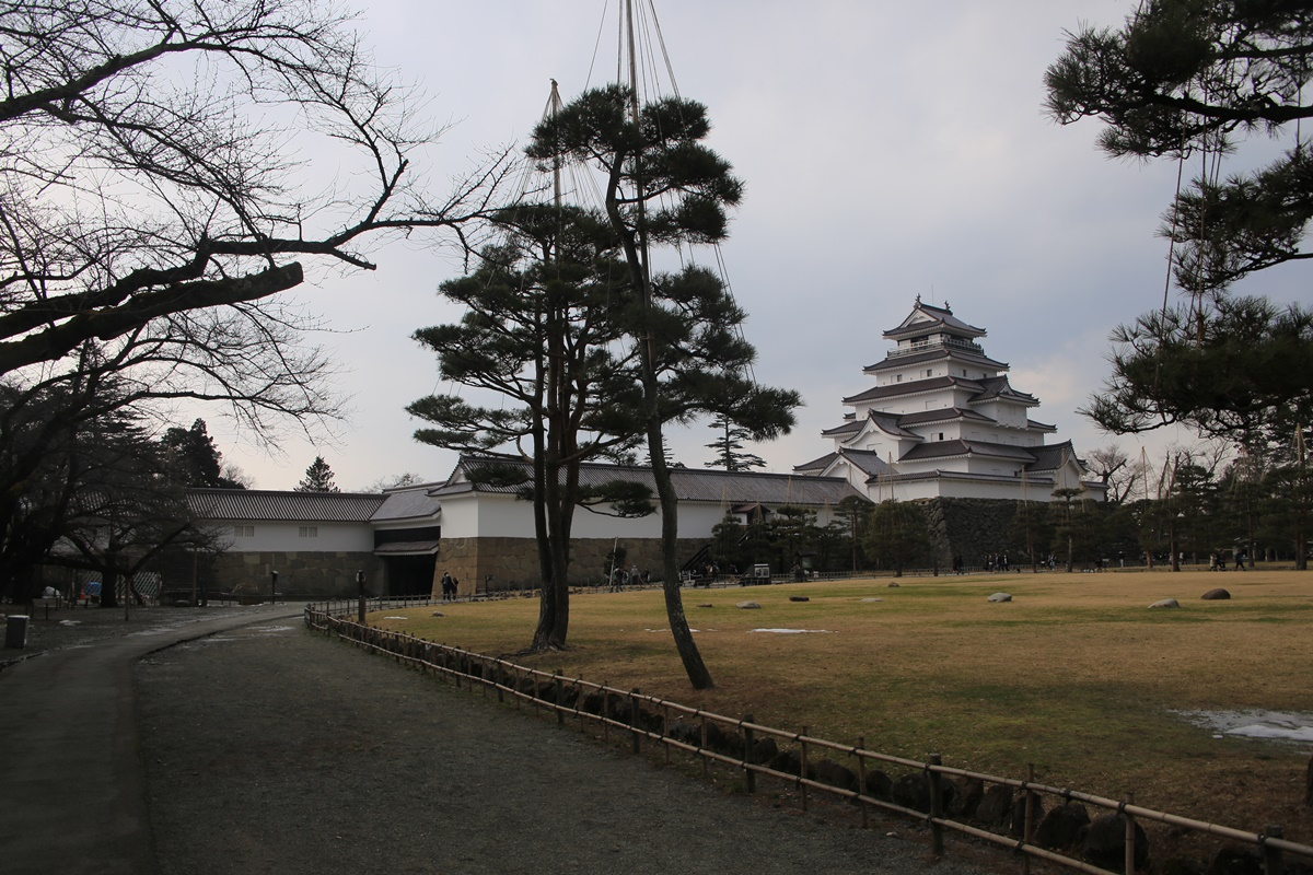 会津若松 鶴ヶ城 auzuwakamatsu_tsurugajyo