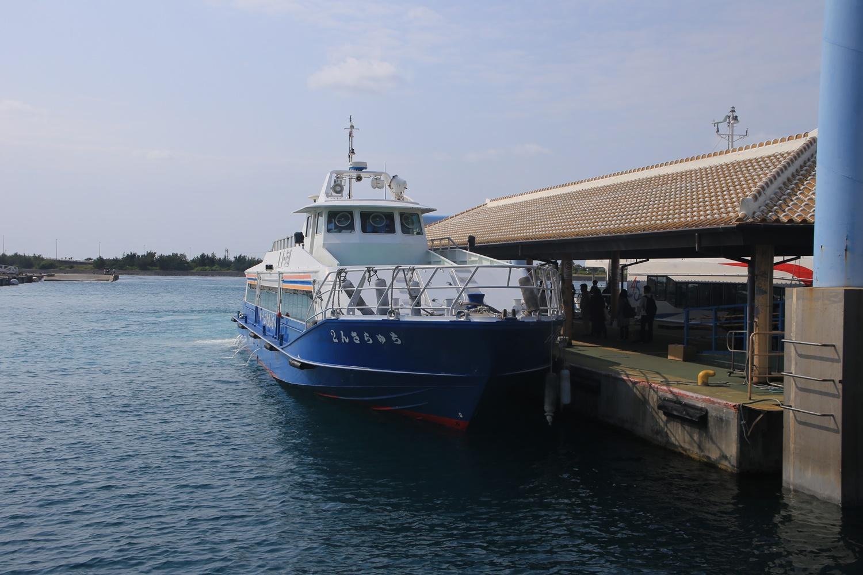 石垣港 小浜島 定期船